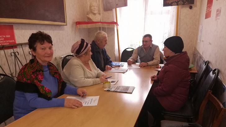 Депутат-коммунист Волгоградской областной думы встретился с избирателями города Михайловки