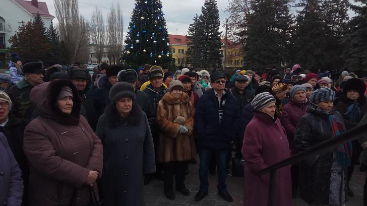 Депутат Волгоградской облдумы Владимир Иванов  посетил митинг за доступную медицину