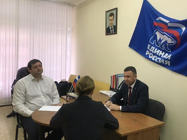 Депутаты «Единой России» провели приемы граждан