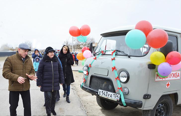 Новые санитарные машины поступают в сельские поселения Волгоградской области