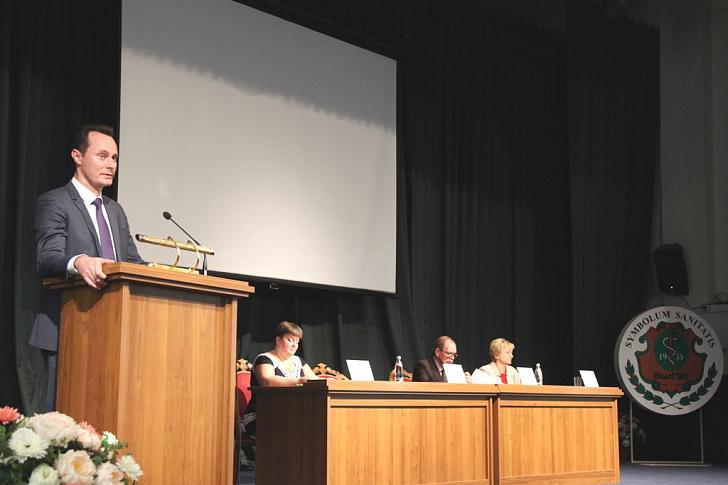Педиатрический факультет ВолгГМУ отмечает юбилей