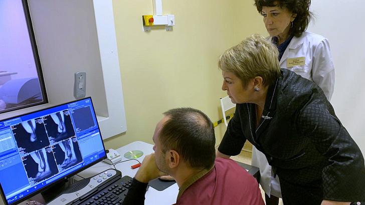 Председатель профильного парламентского комитета проинспектировала базовую клинику на юге Волгограда