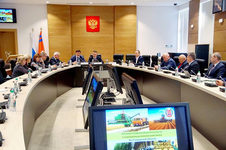 Рост инвестиций способствует развитию сельского хозяйства Волгоградской области