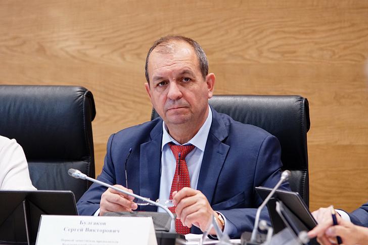 Сергей Булгаков: «В регионе созданы условия для дальнейшего динамичного развития»