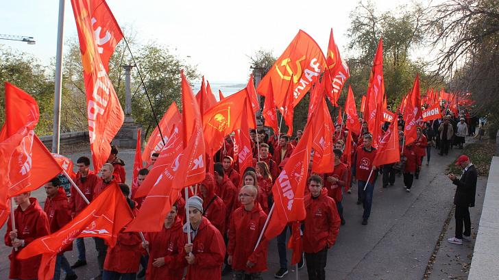 Сталинградский областной комитет провел заседание штаба после празднования Великого Октября