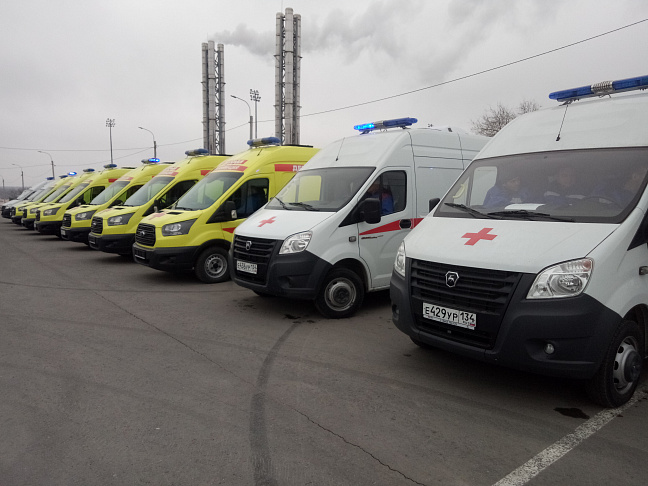 В волгоградском регионе обновлено 94 процента автомобилей скорой помощи