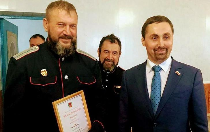 Алексей Логинов поздравил казаков Чернышковского района с 450-летием служения Отечеству