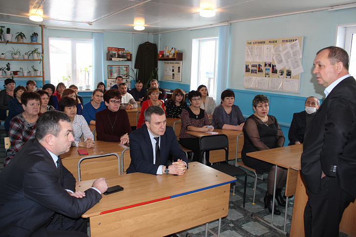 Сергей Булгаков посетил Палласовский район