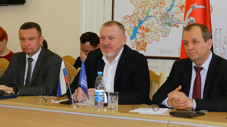 Сергей Горняков: «Единой России» в регионе необходимо активно подключиться к реализации поручений, озвученных Президентом России
