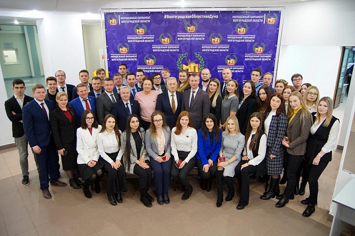 В регионе приступил к работе Молодежный парламент нового созыва