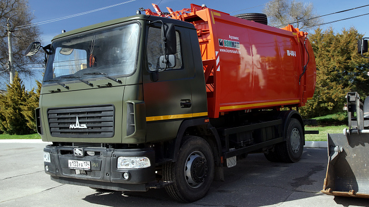 В Волгоградской области снизился тариф на вывоз мусора