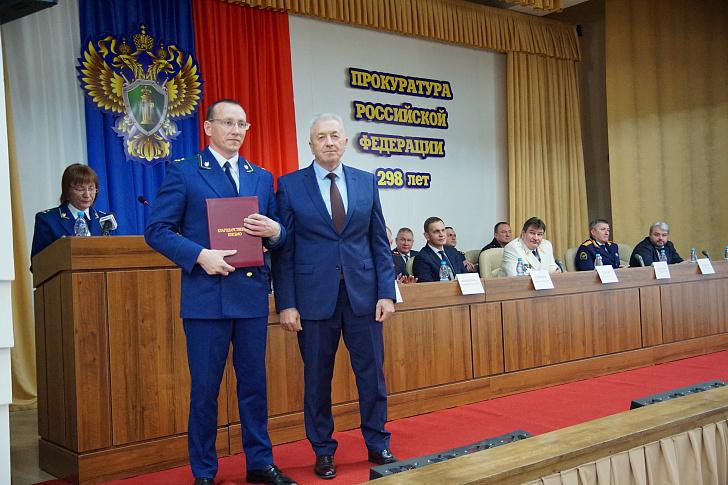 В волгоградском регионе отметили лучших сотрудников прокуратуры