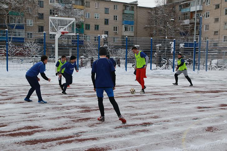 В волгоградском регионе строятся объекты для занятий массовым спортом