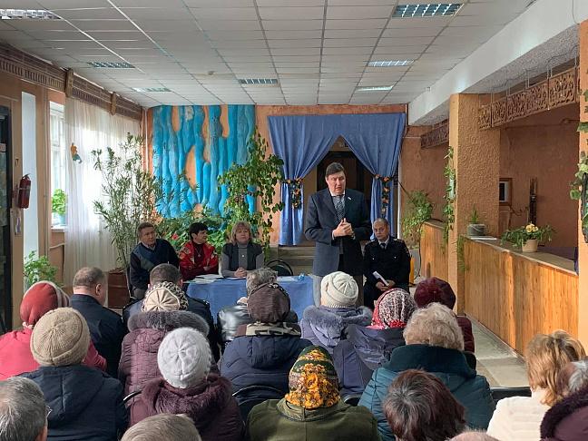 Рабочая поездка в Суровикинский район