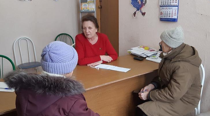 Руководитель фракции КПРФ Волгоградской областной Думы Тамара Головачева провела встречи с избирателями