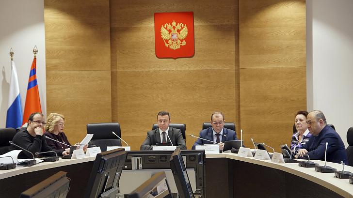 В областной Думе обсудили перечень вопросов, касающихся результатов работы администрации региона в 2019 году