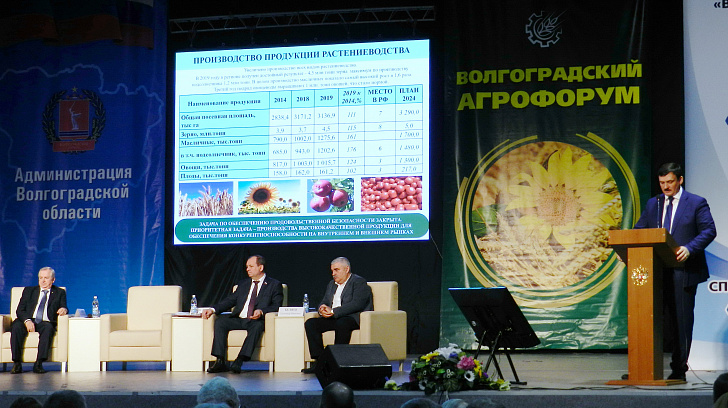 В Волгограде открылся межрегиональный сельскохозяйственный форум