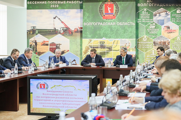 Агропромышленный комплекс Волгоградской области продолжает укреплять свои позиции