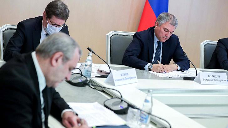 Депутаты обсудили с председателем ЦБ меры по защите граждан и бизнеса в условиях распространения коронавирусной инфекции