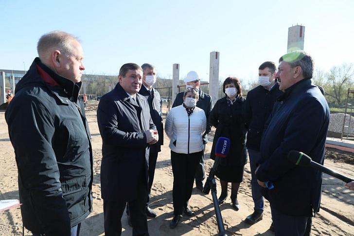 В кратчайшие сроки для жителей Заволжья будет построена современная инфекционная больница