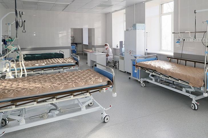 В регионе открылся госпиталь для лечения больных с коронавирусом