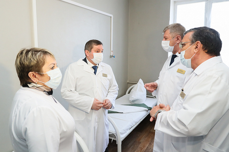 В Волжском открылся госпиталь для лечения больных с коронавирусом и будет построена новая инфекционная больница