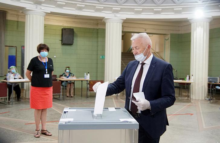 Александр Блошкин: «Выполняя свой гражданский долг, мы определяем будущее России»