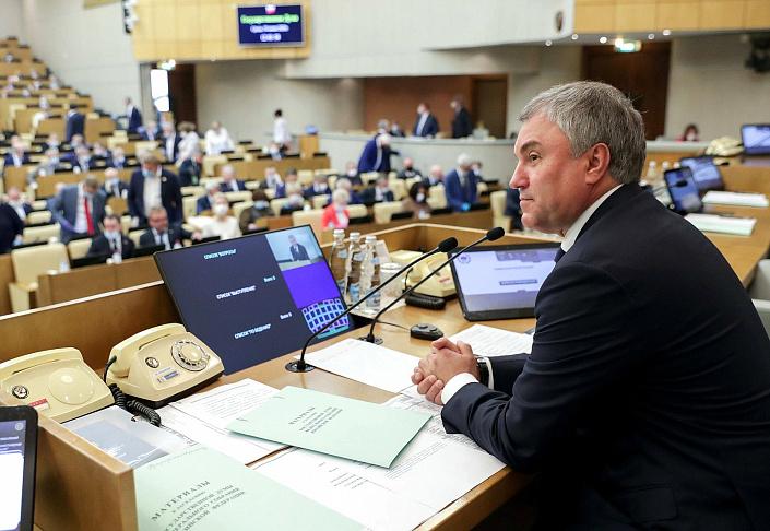 Председатель Госдумы Вячеслав Володин: надо поддержать обновление парка общественного транспорта в регионах