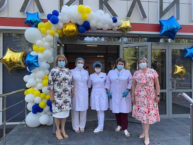 В Волгоградской области приступила к работе образцовая поликлиника