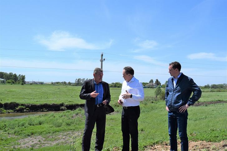 Юрий Марамыгин посетил Фроловский район с рабочей поездкой
