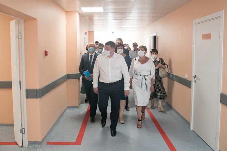 Закончен первый этап строительства современной инфекционной больницы в Волжском