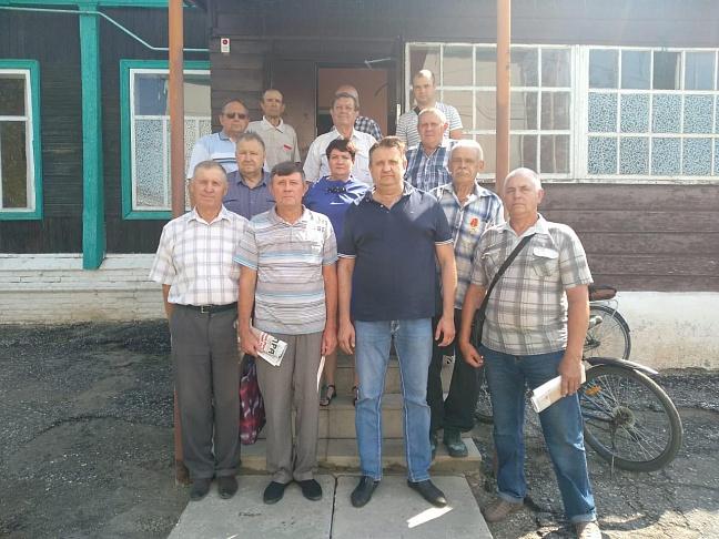 Депутат-коммунист Валерий Могильный провел встречи с избирателями Волгоградской области