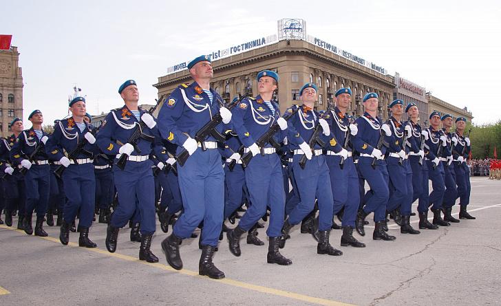 Поздравление председателя Волгоградской областной Думы  Александра Блошкина с Днем Воздушно-десантных войск