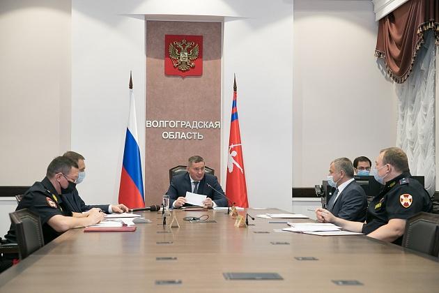 Андрей Бочаров провел заседание антитеррористической комиссии Волгоградской области