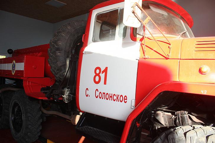 Новое пожарное депо открыто в Нехаевском районе