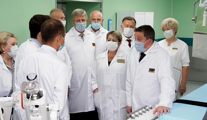 Опорная клиника в Волжском приступает к следующему этапу модернизации