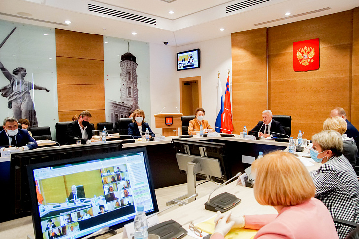 Совет Думы рассмотрел предложения областных депутатов для обсуждения на Конференции Южно-Российской Парламентской Ассоциации