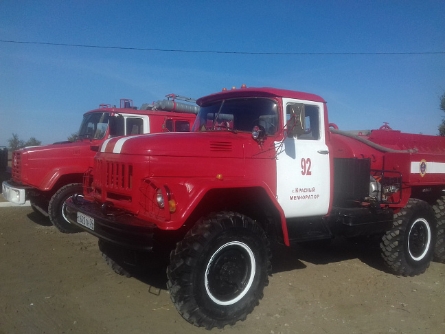В Волгоградской области продолжается развитие системы противопожарной службы