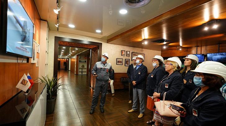 Волжский трубный завод готов стать площадкой для развития промышленного туризма